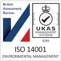 The British Assessment Bureau ISO14001 logo
