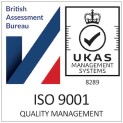 The British Assessment Bureau ISO9001 logo